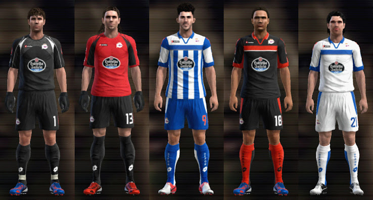 PES 2012 Depor 12 13 Kit Set by mario88