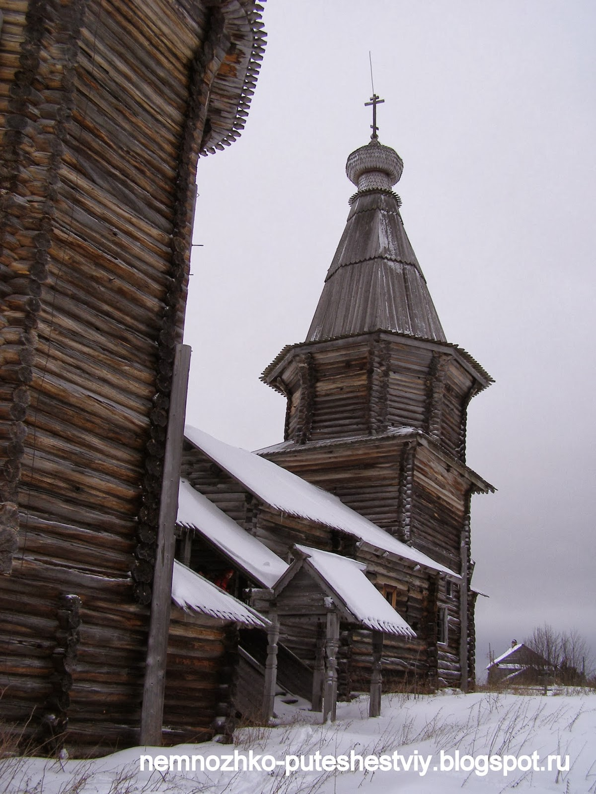 церковь Святой Варвары в д. Яндомозеро