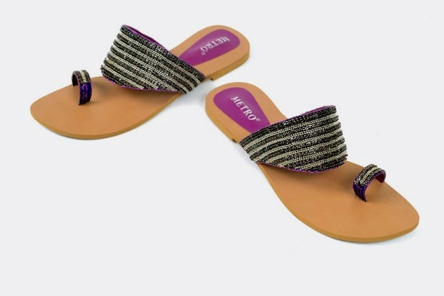 Metro - Eid Shoes Collection 2014 for Girls