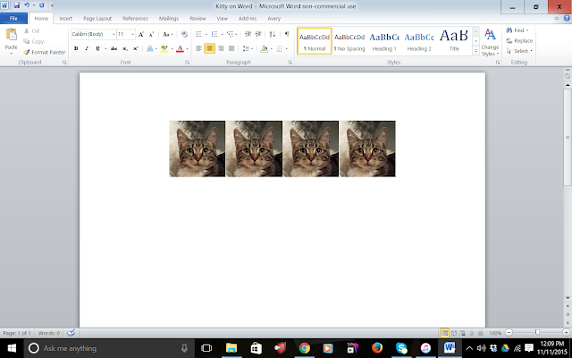 Multiple copies of kitty image