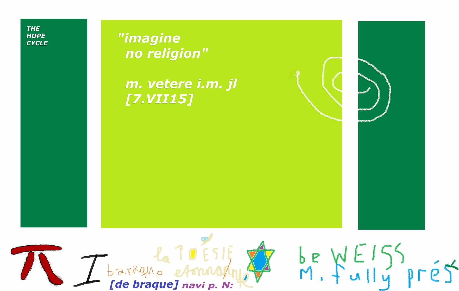 imagine no religion mischa vetere WHAT ARE WE WAITING FOR homage john lennON michael jackson obama