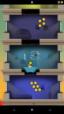 Captura de pantalla del juego gratis para Android Daddy was a thief.