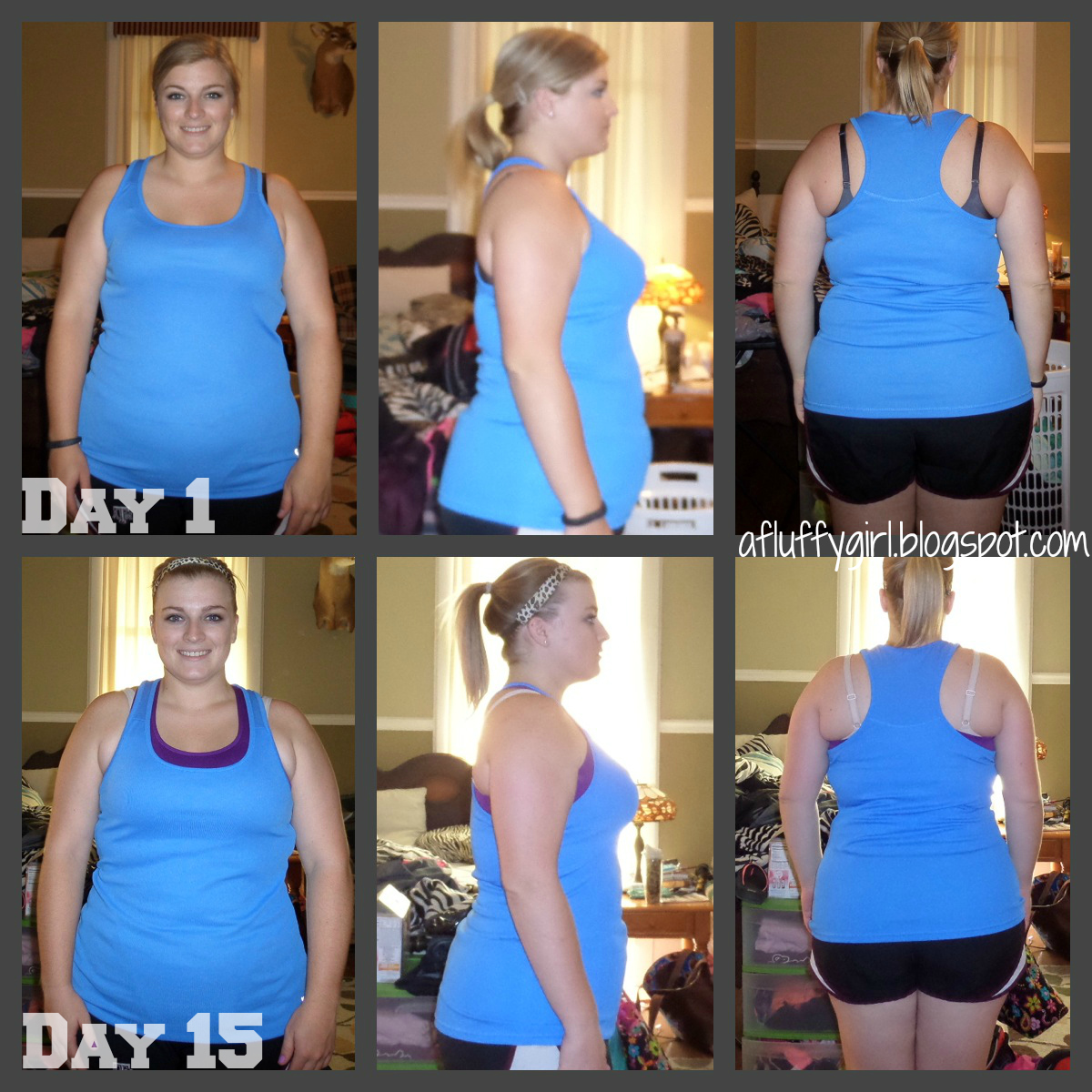 30 Day Crunch Challenge Before And After 30 day shred results
