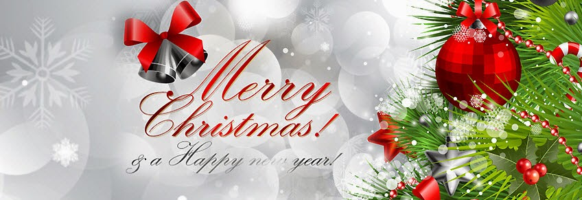 Merry Christmas And Happy New Year Greeting Wallpaper