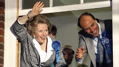 Margaret Thatcher wins third therm