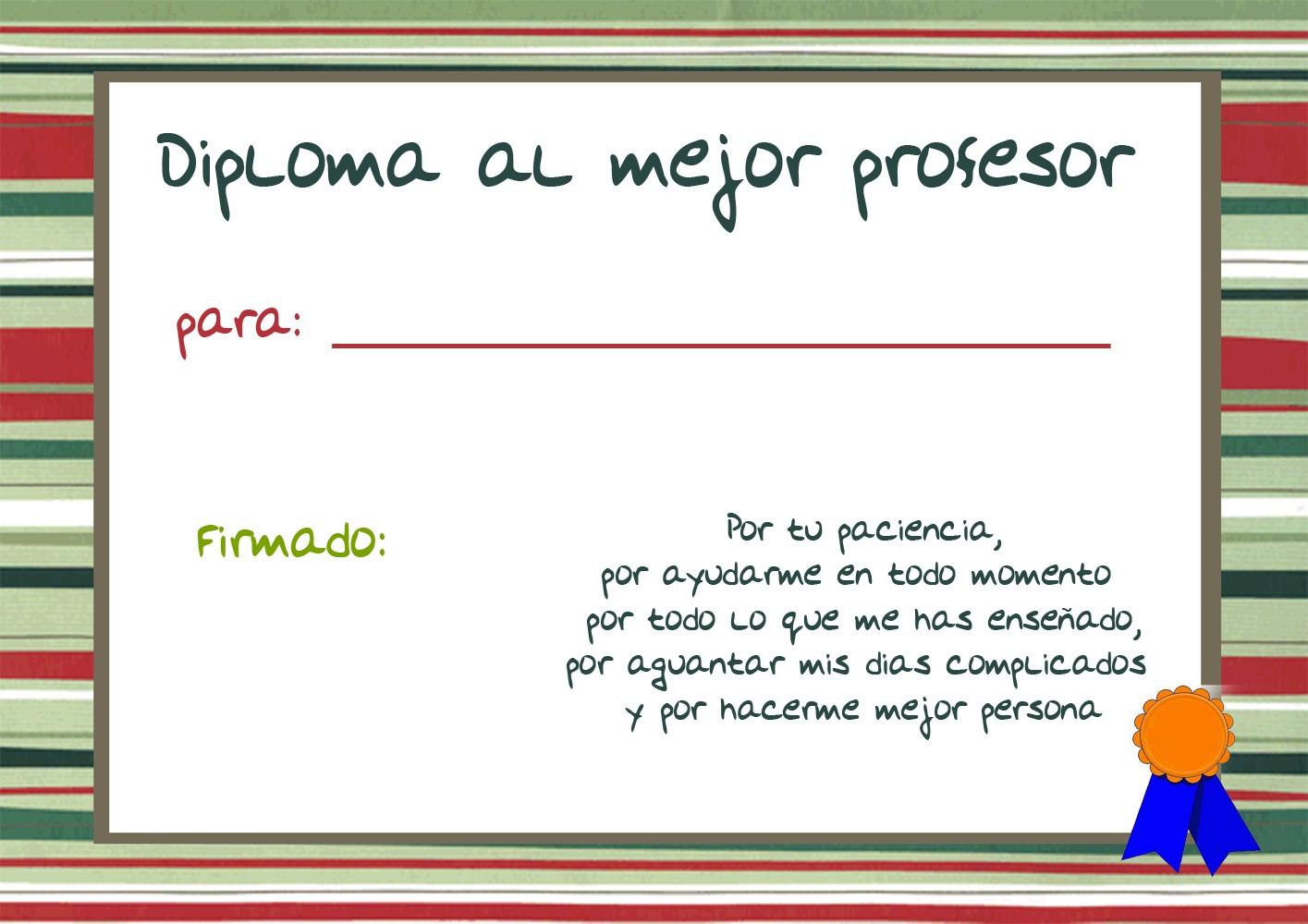 Plantillas Para Diplomas Y Reconocimientos Infantiles