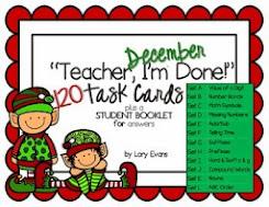 December Task Cards