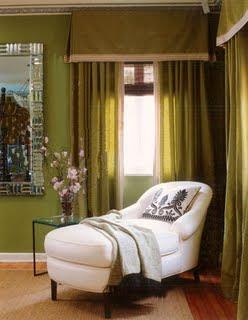 Color verde para las paredes decoracion de salones for Combinaciones de color verde para interiores
