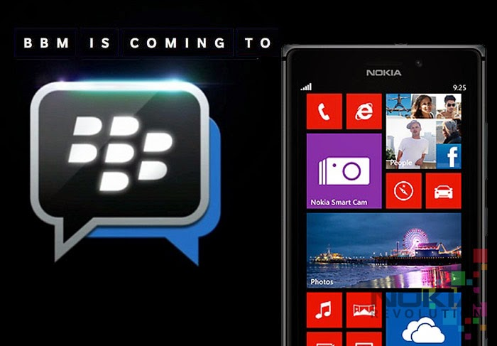 windows phone için bbm