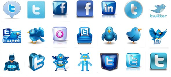 icone bleu
