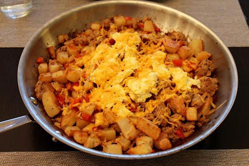 Sausage Breakfast Skillet Hash