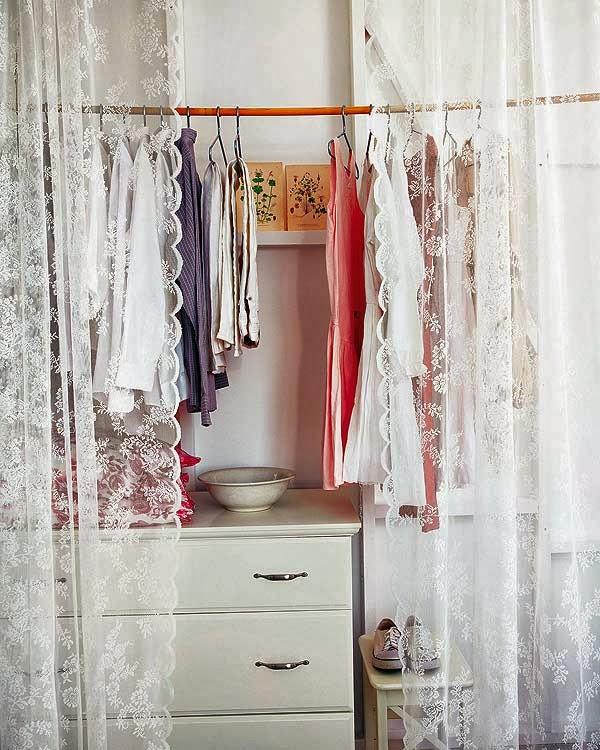 Retro y con encanto sin puertas - Como hacer cortinas para puertas ...