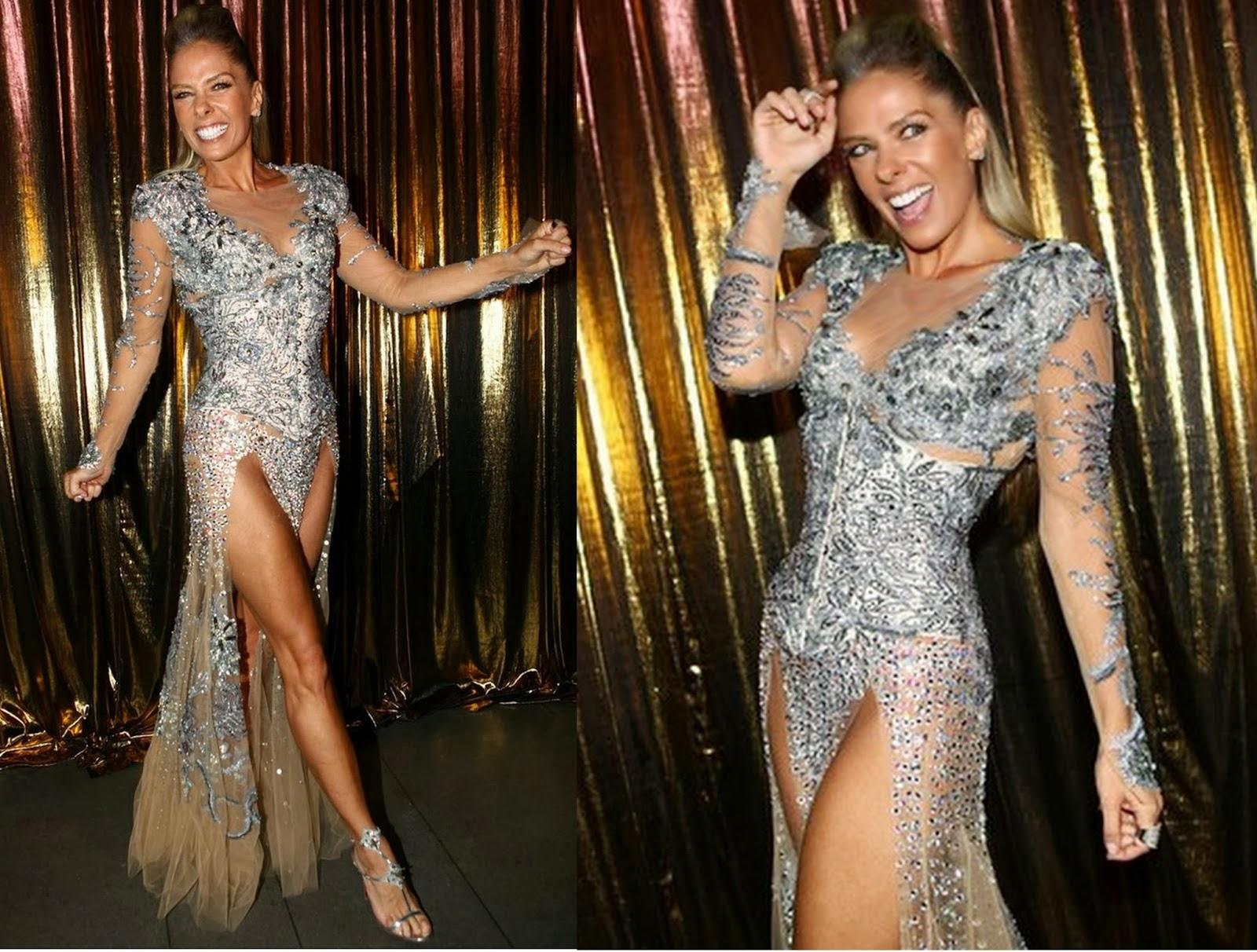vestido com fendas, carnaval brasil 2014