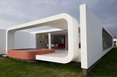 casa de playa fachada original