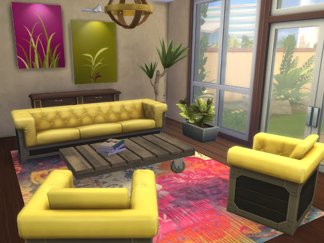 Colorful Furnished Interior