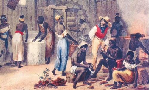 Escravos e o mito da manga com leite