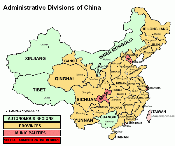 Old Fashioned image for printable map of china