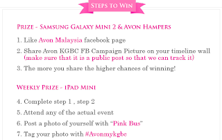 how 2 - CONTEST - Win Saumsung Galaxy Mini 2 & AVON Hamper!
