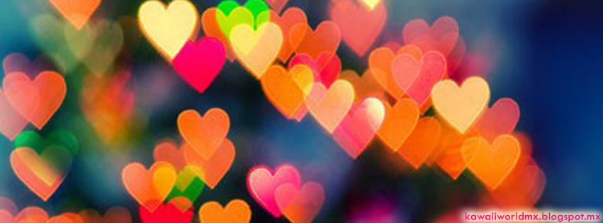 Fotos de portada de corazones - Imagui