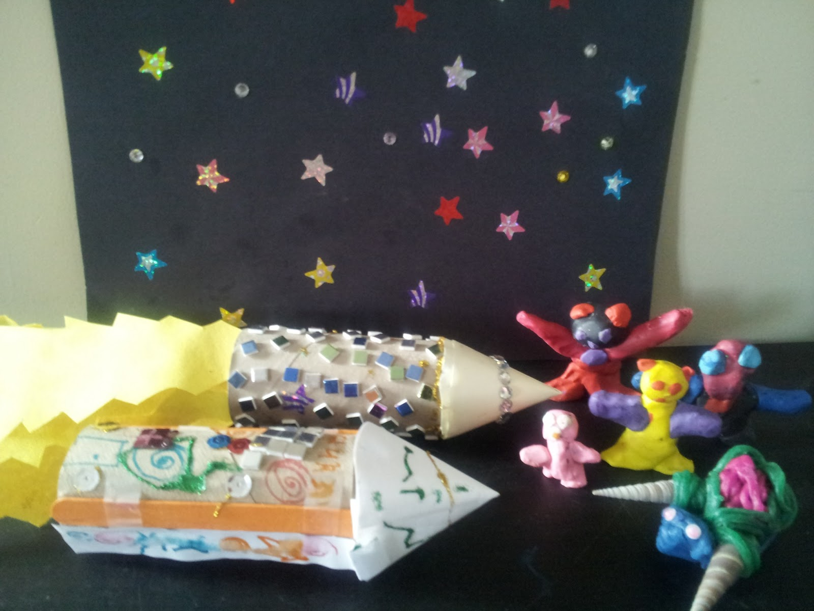 crafts, kids crafts, rocket ship craft