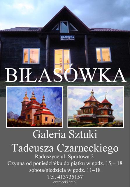 Radoszyce, Biłasówka - Galeria Sztuki Tadeusza Czarneckiego