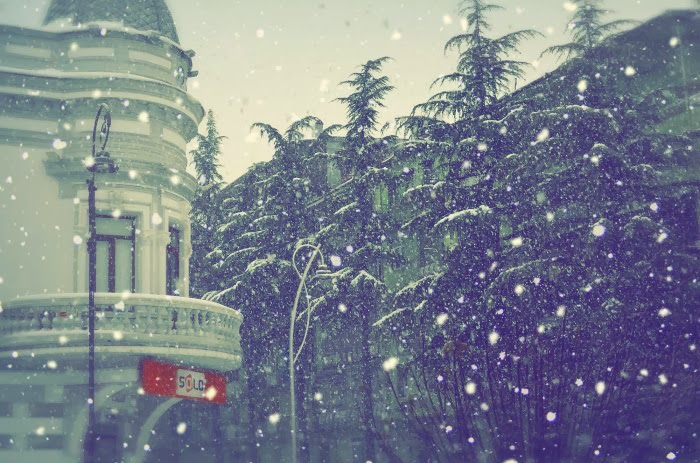 Батуми под снегом  2013/14