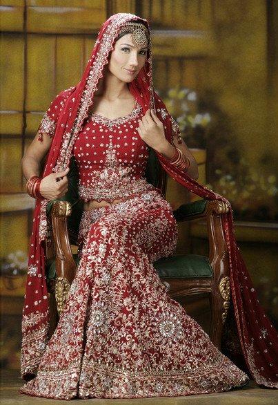 Labels Indian wedding lengha