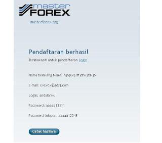 Cabinet trader masterforex