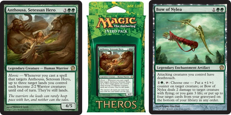 Mtg realm theros intro pack decklists for Portent of betrayal