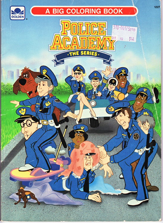 Scuola di polizia cartone animato episodi