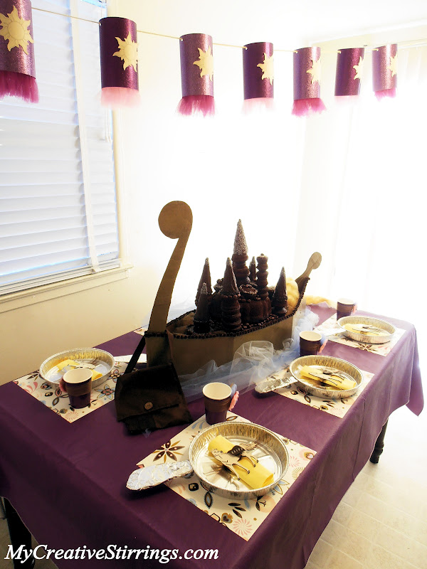 My Creative Stirrings Tangled Birthday Party Rapunzel