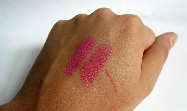 MAC Fanfare Chatterbox Lipstick swatch