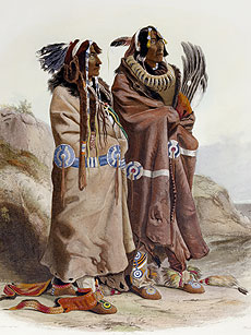 Native American Indian Pictures: Omaha Indian Images