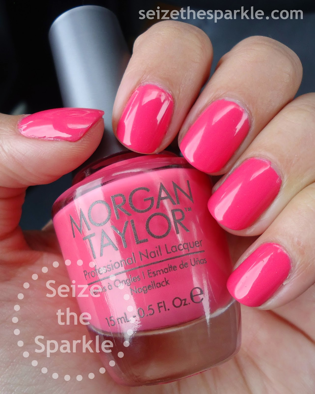 Morgan Taylor Cinderella Collection Pink Creme