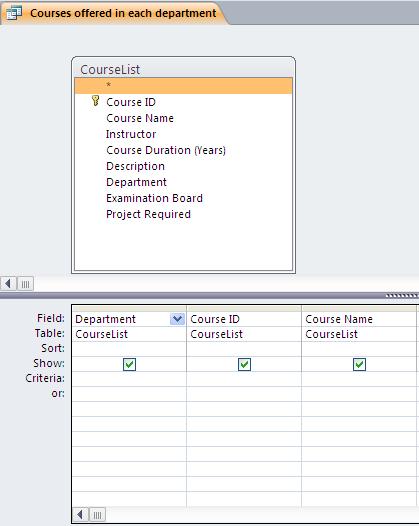 spreadsheet coursework