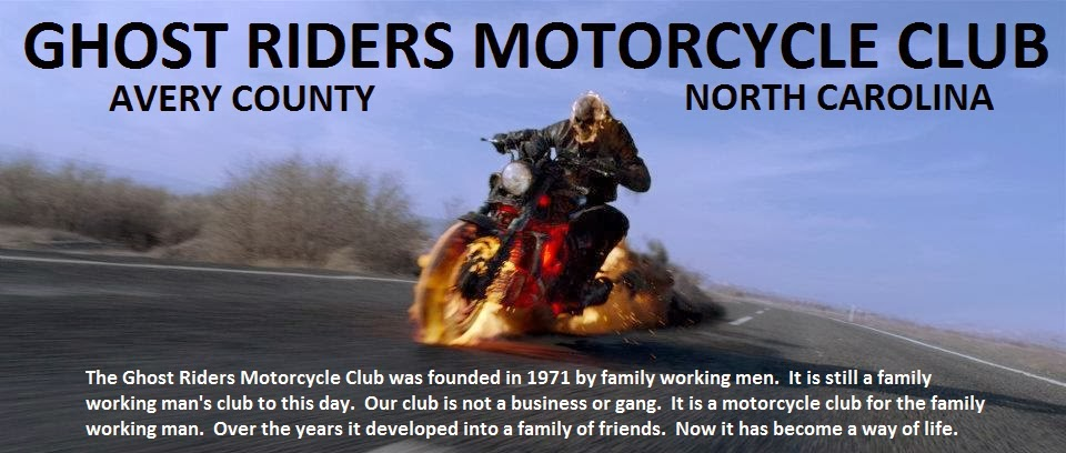 Ghost Riders Motorcycle Club Avery Co NC