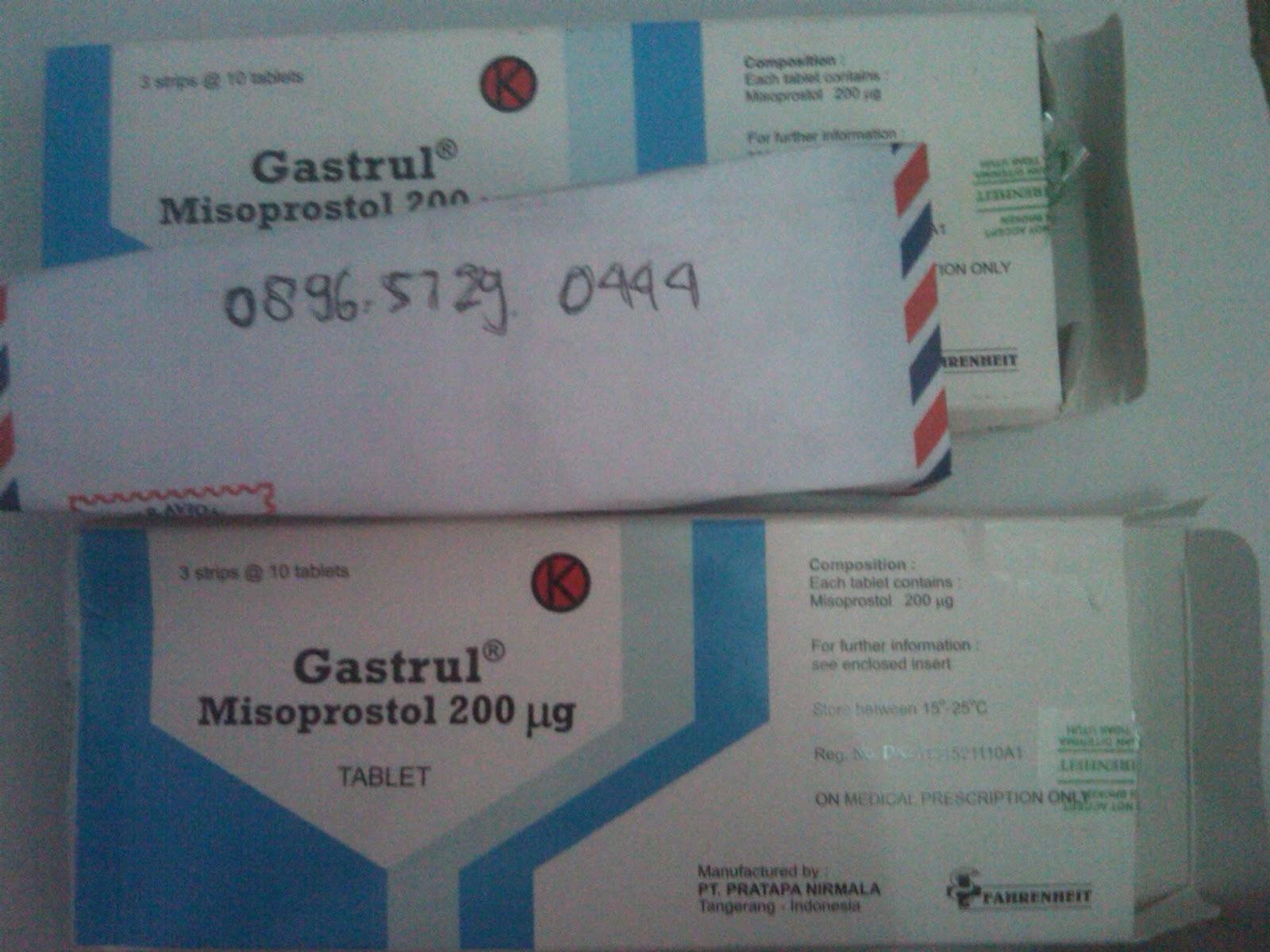Gastrul Untuk Mengugurkan Kandungan