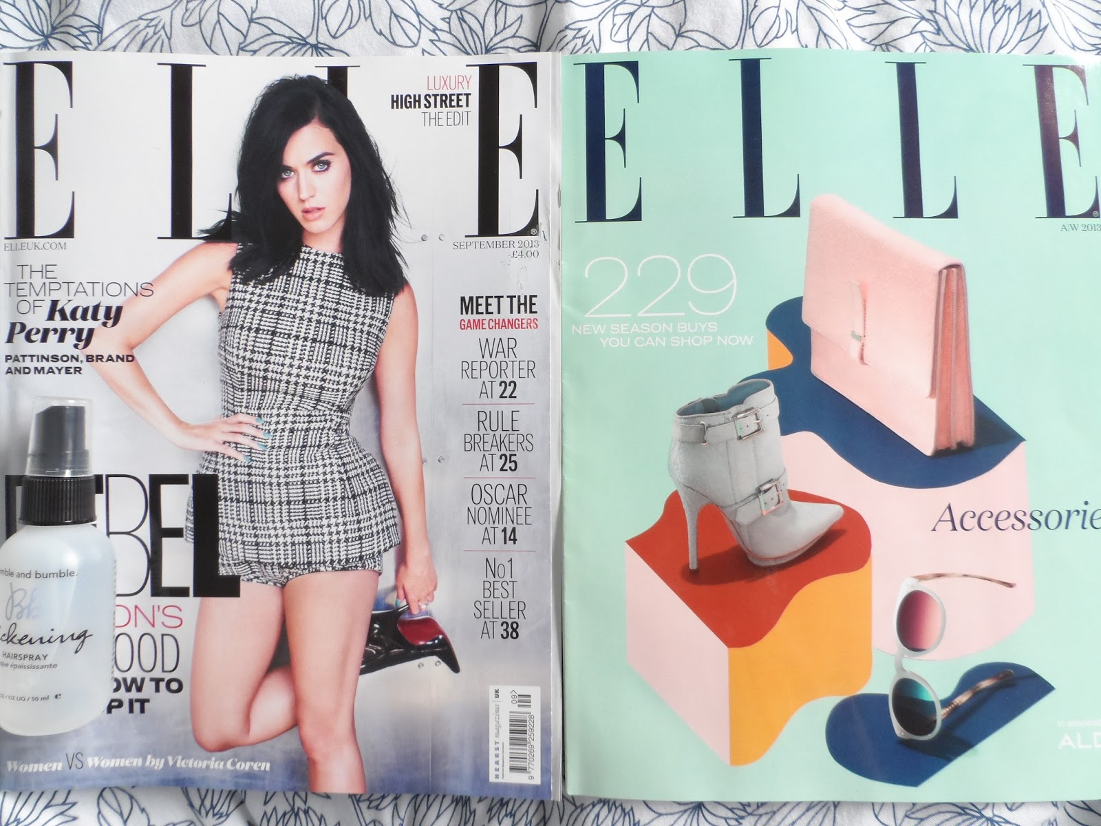 Thrifty and fashion for Elle magazine this month