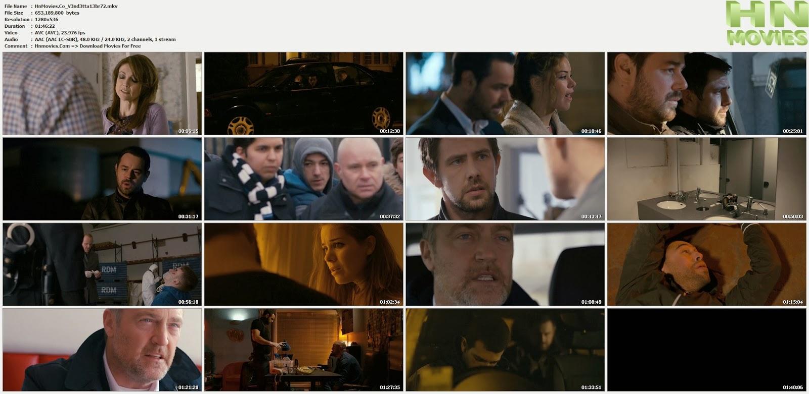 Vendetta (2013) BluRay 720p BRRip 625MB