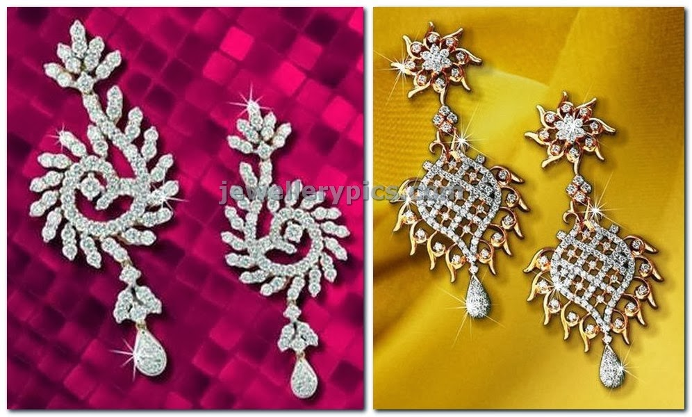 diamond earrings from lagu bandhu.