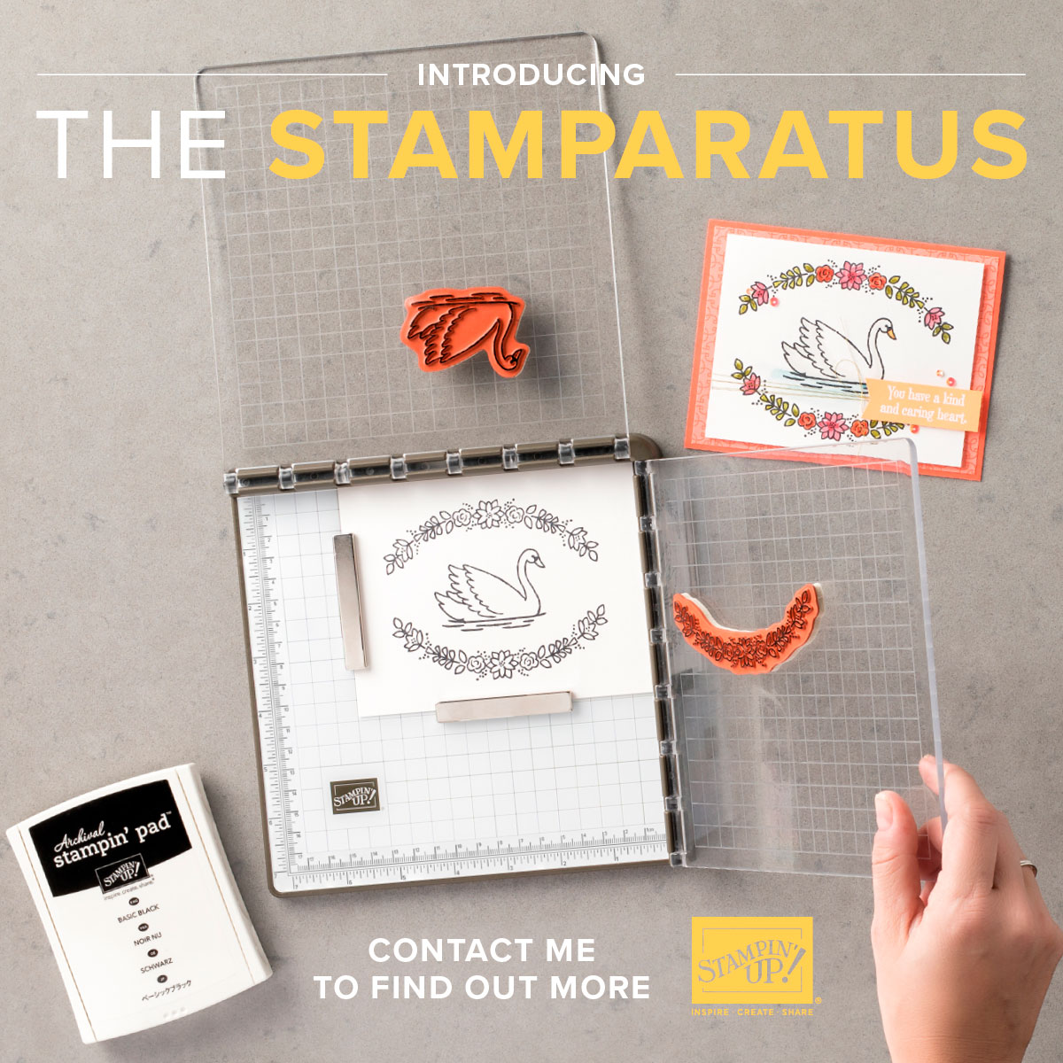 The Stamparatus is here!