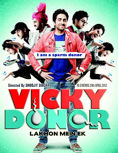 Poster Of Bollywood Movie Vicky Donor (2012) 300MB Compressed Small Size Pc Movie Free Download worldfree4u.com