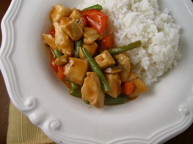 Stephanie Cooks: Chicken Sriracha Stir Fry