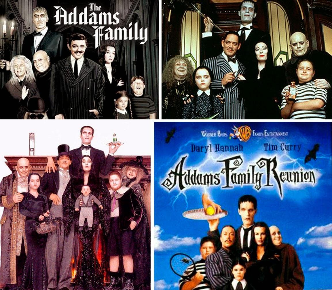 'Addams Family', Series llevadas al cine