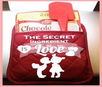 Secret Ingredient Oven Mitt Kit