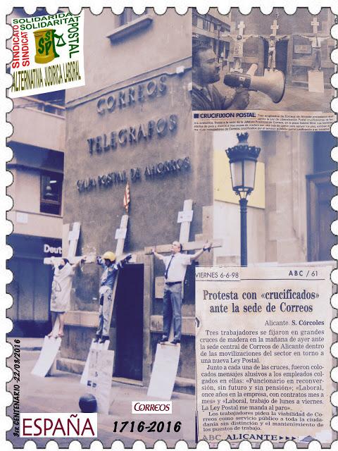 CORREOS 1716-2016 *3er-Centenario*