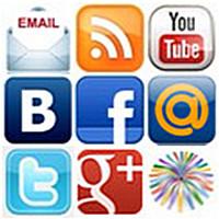 Контакты - Подписка - Представительства в социальных сетях