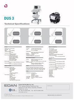 DUS 3 EDAN Spesifikasi