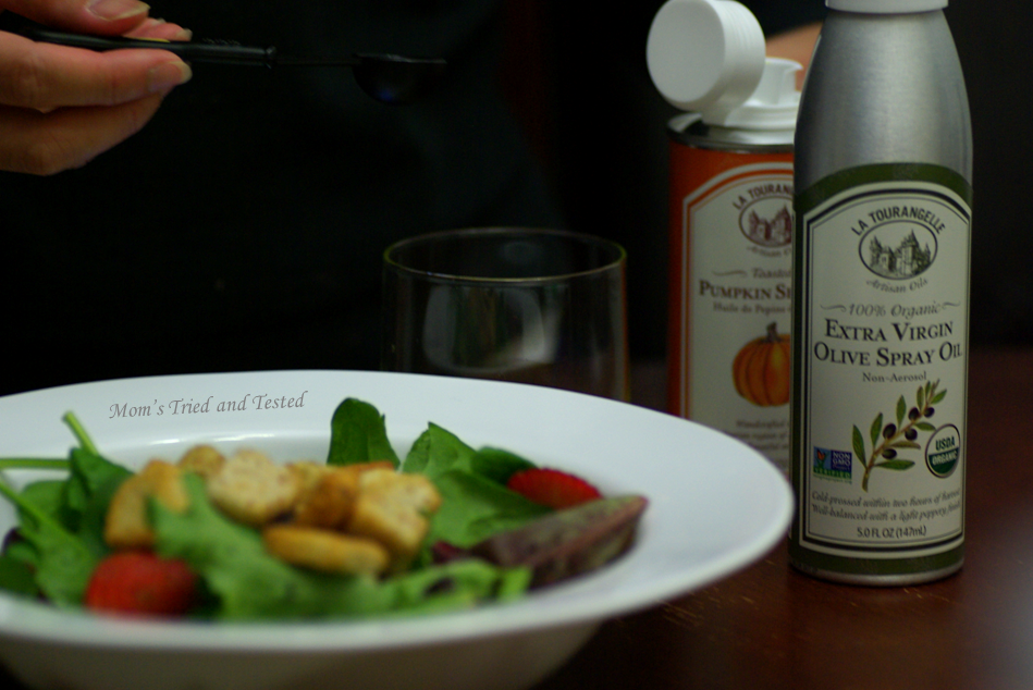 Home-made salad dressing!