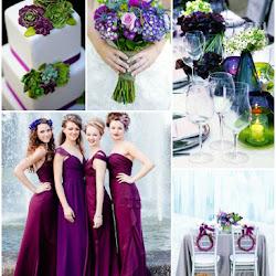 Tiana-Inspired Peach, Navy and Green Wedding Colour Scheme   A Hue ...